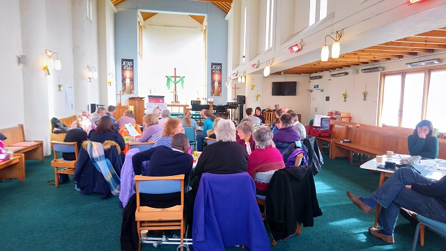 Gorleston Church - course in progress